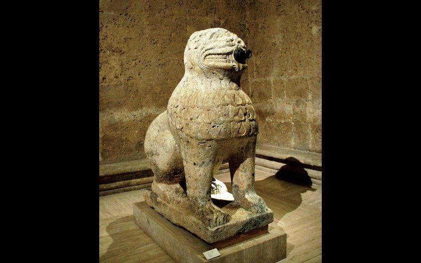Images in Psychiatry - The Lions of Granada Maristan destacada