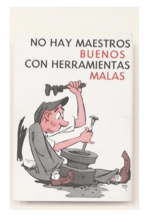 Imagen en el Museo de Sewell, poblado de la Mina El Teniente, Rancagua (Chile)